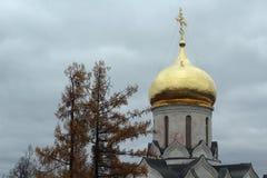 The Savvino-Storozhevsky Monastery in Serpukhov Stock Images