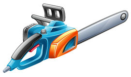 Saw. Vector illustration of saw on white background royalty free illustration