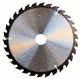Saw-blade Royalty Free Stock Photos