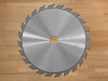 Saw Blade Royalty Free Stock Photo