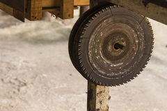 The Saw blade royalty free stock image