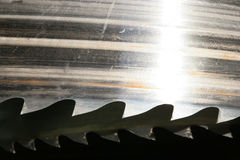Saw blades Stock Photography