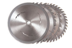 Saw Blades Royalty Free Stock Images
