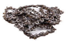 Saw chain Royalty Free Stock Image