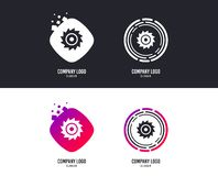 Saw circular wheel sign icon. Cutting blade. Vector stock illustration