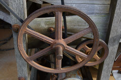 Saw Mill Equipment Stock Photography