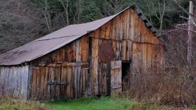Saw Mill. Photo of an old barn used as a sawmill Stock Images