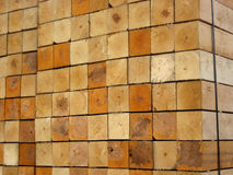 Saw-timber. Saw-timber store Stock Photography