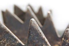 Saw wheels Royalty Free Stock Image