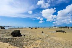 Sawada strand Sawada ingen Hama Arkivbilder