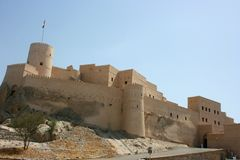 Sawadi Fort Royalty Free Stock Image