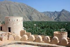 Sawadi Fort Stockfotos