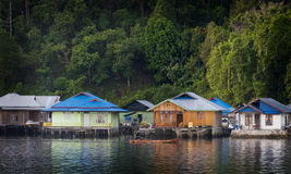 Sawai, A Little Paradise In The North Of Seram Island, Maluku. Royalty Free Stock Photos