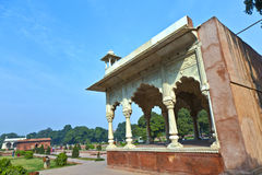 Sawan pavilion in Red Fort Complex Stock Photography
