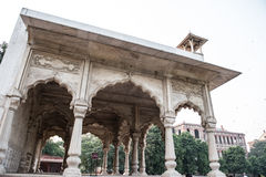 Sawan Pavilion in Red Fort Stock Photos