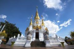 Sawan tempel för Tham kuha, Ubon Ratchathani, Thailand Royaltyfri Foto