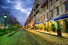 Sawanna, Gruzja, usa na Rzecznej ulicie