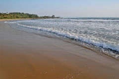 Sawarna beach Royalty Free Stock Photo