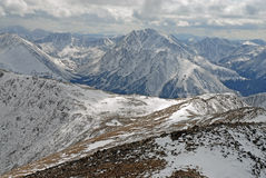 Sawatchwaaier, Rocky Mountains Colorado Royalty-vrije Stock Fotografie