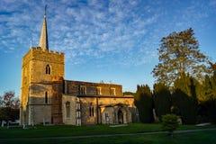 Sawbridgeworth Churh στην οδό εκκλησιών στοκ εικόνες