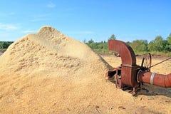 Sawdust Stock Image