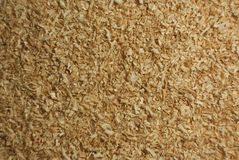 Sawdust. Background from wood sawdust of building Stock Photography