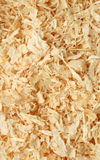 Sawdust. A background of sawdust from above royalty free stock image