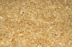 Sawdust as a background Stock Photos