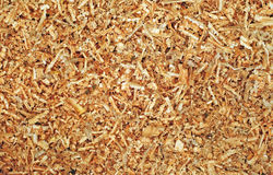 Sawdust as background Stock Photos