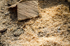 Sawdust Royalty Free Stock Photos