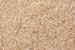 Sawdust. Photo of wood sawdust to show it`s texture stock images