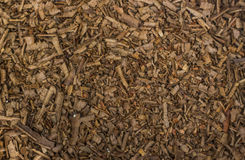 Sawdust texture background. Royalty Free Stock Photography