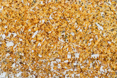 Sawdust texture Stock Images