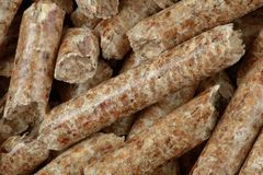 Sawdust Wooden Pellets Royalty Free Stock Image