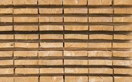 Sawed timber planks Stock Photography