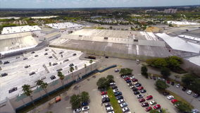 Sawgrass Mall Aerial video footage stock video footage