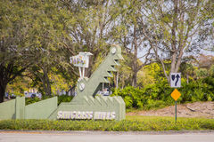 Sawgrass-Mühlen Stockfotografie