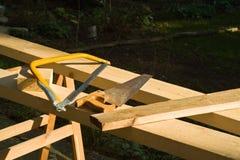 sawing Стоковое Фото
