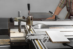 Sawing machine Royalty Free Stock Images