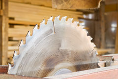 Sawmill. An old small country sawmill Royalty Free Stock Images