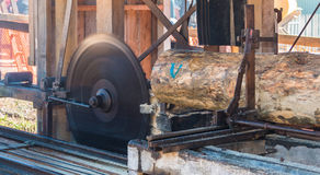 Sawmill Blade Stock Photo