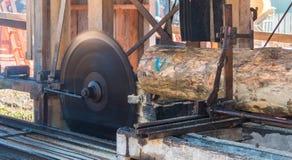 Sawmill Blade Stock Photo