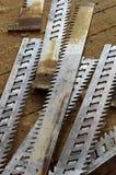 Sawmill blades broken Royalty Free Stock Photo