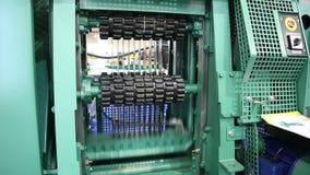 Sawmill equipment stock footage