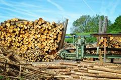 Sawmill (lumber mill) Stock Image