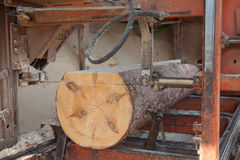 Sawmill Stock Photo