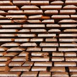 Sawmill wood drying processing Royalty Free Stock Images