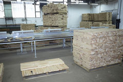 Sawmill wood industry Stock Photo