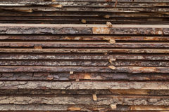 Sawmill, wood processing, timber drying Royalty Free Stock Photo