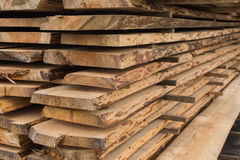 Sawmill, wood processing, timber drying Stock Photos